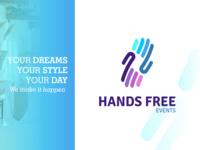 HandFree Events Branding