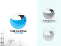 Visual brand identity for Shark Bunting Adventures