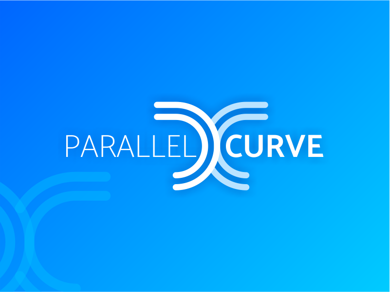 Visual Identity for Parallel Curve visual design graphic design graphics visual  identity brand logo branding dribbble design