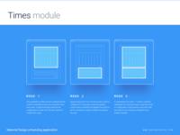 Times module - Configuration modes