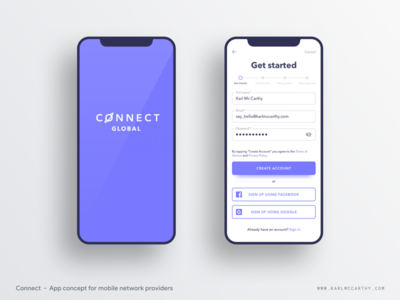 Connect - On boarding