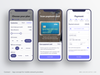 Connect - Custom plan & payment