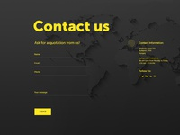 Daily ui 028 contact us