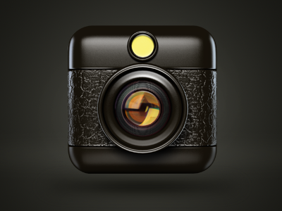 Hipstamatic Icon hipstamatic icon iphone 3d 3dsmax 3ds max photoshop apple app iso