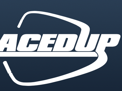 LacedUp: The Logo (Revised) logo sketching concept startup draft