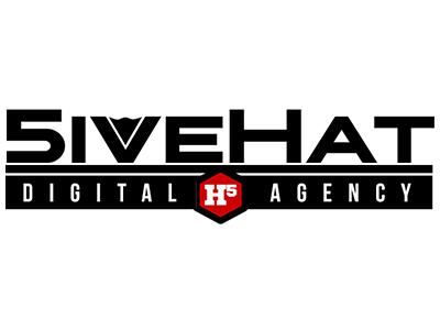 5ivehat Logo agency logo