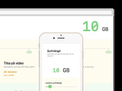Surfmängd slider mobile dataplan type sanfrancisco website
