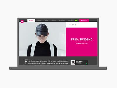 Gullbrannafestivalen artist din magenta website festival music