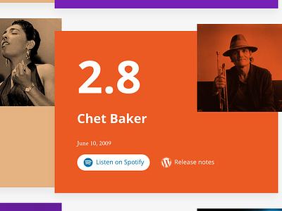 WordPress Jazz spotify music opensans css blendmodes duplex wordpress wp jazz