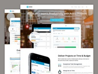 Avaza Marketing Website Redesign
