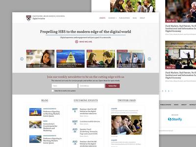 Harvard Business School: Digital Initiative Website
