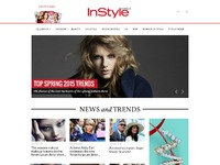 Instyle homepage