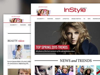 InStyle Australia Website