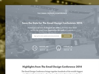 Email Design Conference 2015