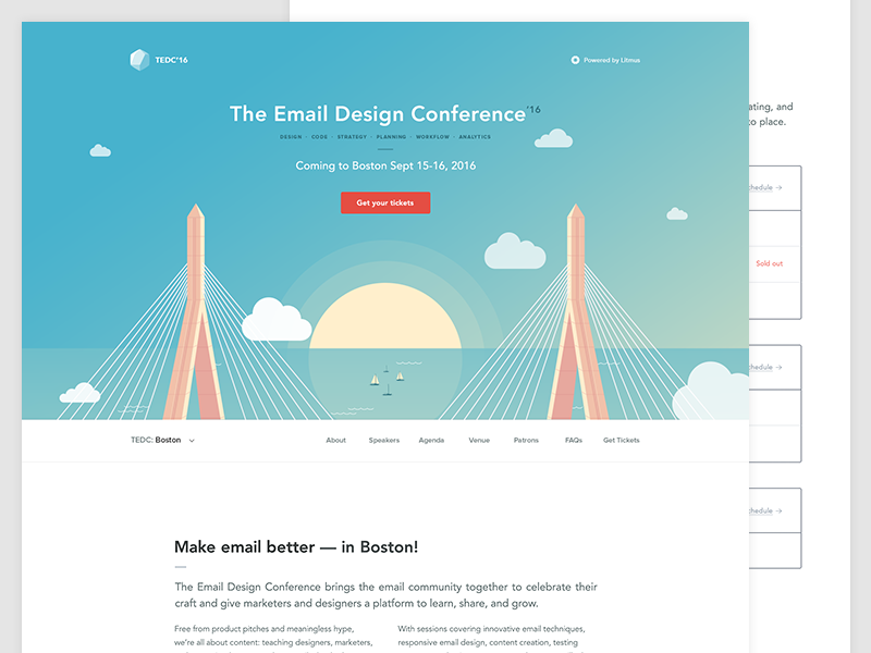 The email design conference boston tedc email
