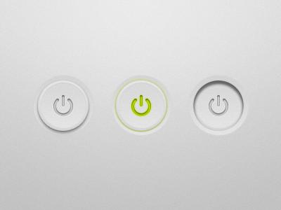Dribbble button