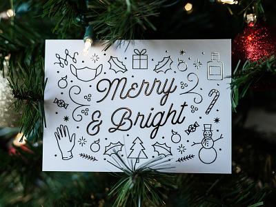 Happy Holidays! gift present hand sanitizer mask gloves snowmwan quarantine covid florida silver foil foil bright merry illustration envy labs merry christmas happy new year christmas holiday happy holidays