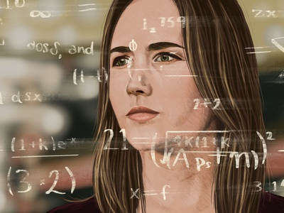 Demystifying Software Estimates probability math portrait orlando florida procreate ipad pro illustration envy labs