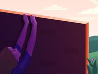 Pushing Through (Creative) Walls