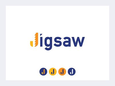 Jigsaw Logo Redesign logo design graphic design typography jigsaw envy labs logo