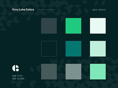 New Colors web design ui colorswatch color palette florida orlando envy labs