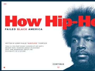 Questlove Homepage questlove music hip hop landing page homepage preview web essay