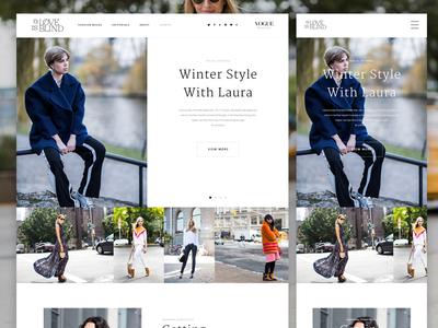 Fashion Blog Redesign