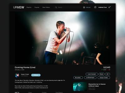 Web Video Player