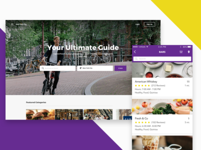 Social Network / Business App Redesign