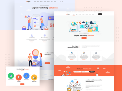 GeoBin | Digital Marketing Agency, SEO WordPress Theme