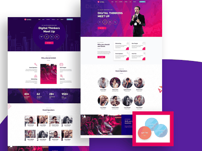 Exhibz - Event Conference WordPress Theme webinar seminar schedule responsive onepage meetup festival exhibition event theme event convention conference
