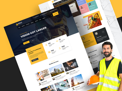 Buildbench - Construction Building WordPress Theme responsive renovation plumber industry industrial engineers contractor construction company construction business construction building builder architecture