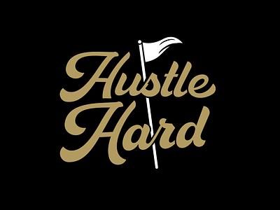 HUSTLE HARD BRAND clothing graphic design design illustration branding brand design logo