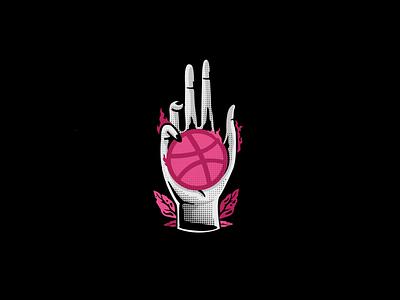 Hello Dribbble! dribbble logodesign design illustration