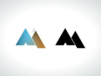 New Company Logo logo mudslide brown blue company logo m