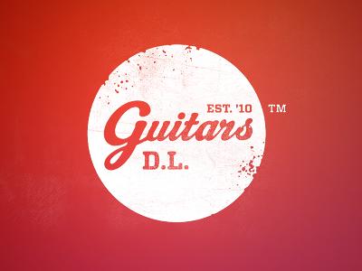DL Guitars Retro Logo logo retro rebranding company brand
