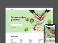 wolt.com home page renewal