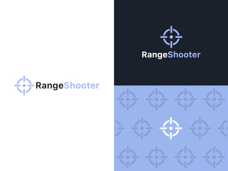 RangeShooter Logo firearms rangeshooter identity logo logo design branding graphic design design