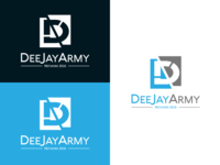 DeeJay Army Network Logo Design