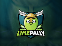 Limepally Twitch Logo Design