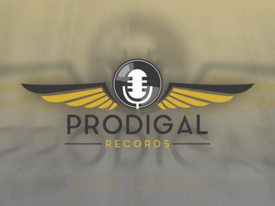 Prodigal Records Logo Design