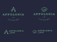 Appolonia Catering Logo Concepts