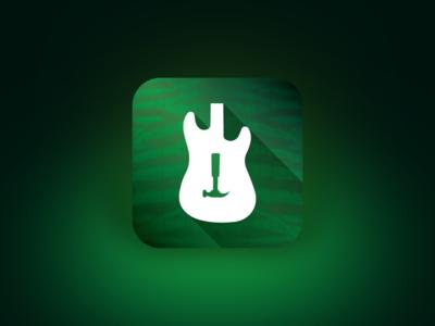 Guitar iOS App Icon
