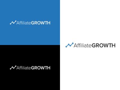 AffiliateGROWTH Logo design affiliate growth affiliate marketing business graphic design branding logo design