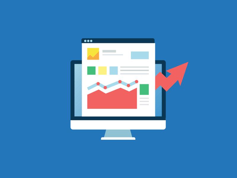 Feature Showcase web design vector illustration icon growth affiliate graphic design design