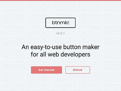 btnmkr v0.0.1 javascript btnmkr ux ui button maker web design web development branding design