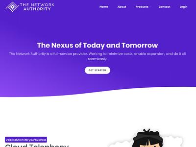 The Network Authority - Homepage Web Design web design agency web designer wordpress graphic design web development graphicdesign website webdesign web design