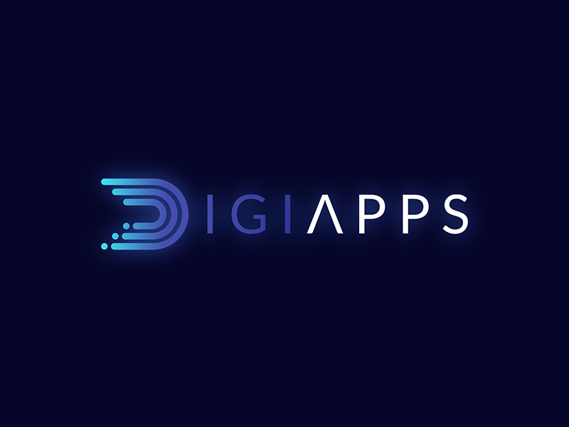 DigiApps Logo Design identity logo graphic design logo branding logo design graphic design