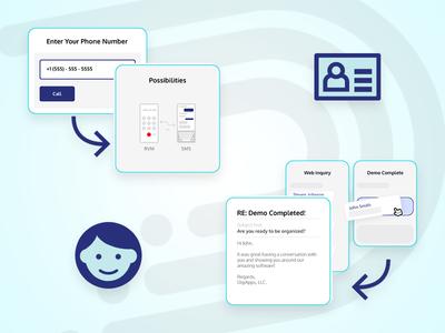 DigiApps Asset Example illustration assets identity web development web design branding graphic design design