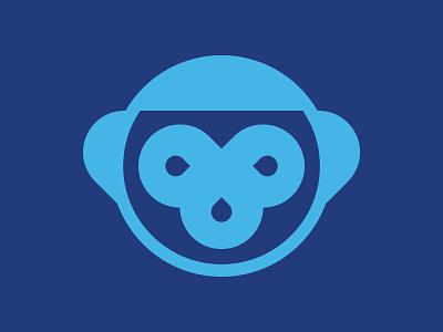 Perceived Monkey graphic design design noodle noodles shapes monkey illustrator design